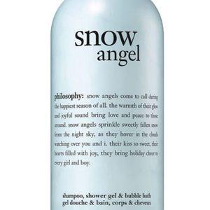 Philosophy Snow Angel Shower Gel Bubble Bath 32oz